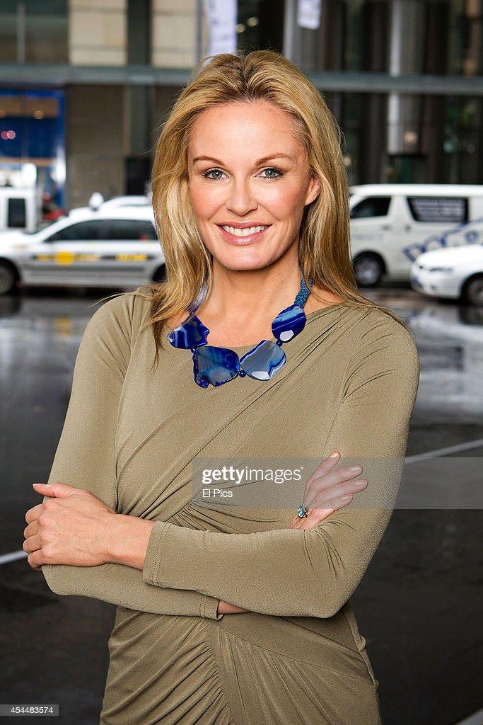 Charlotte Dawson poses for a portrait on July 11 2014 in Sydney Australia