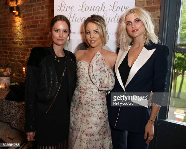 Charlotte De Carle and Ashley James join Lydia Rose Bright as she celebrates the release of her new book' Live Laugh Love Always Lydia' at The Dead...