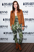 Charlotte De Carle at the launch of the DISARONNO Terrace at London's Golden Bee on June 24 2015 in London England Disaronno Terrace London raised...