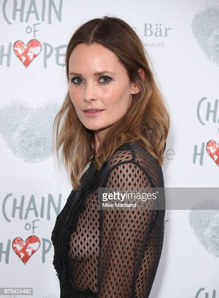 Charlotte de Carle attends the Chain Of Hope Gala Ball held at Grosvenor House on November 17 2017 in London England