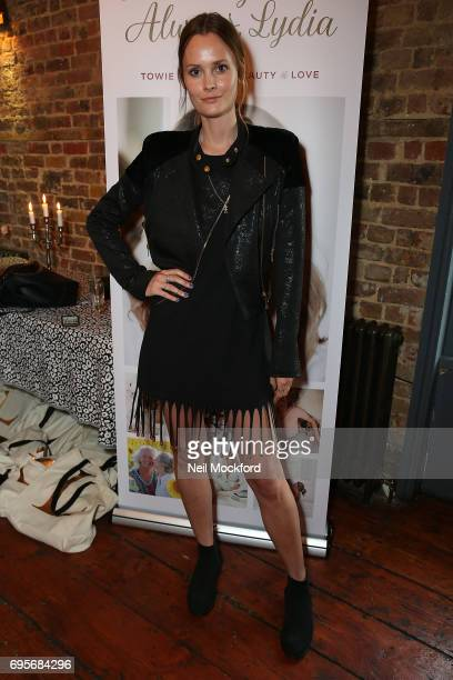 Charlotte De Carle joins Lydia Rose Bright as she celebrates the release of her new book' Live Laugh Love Always Lydia' at The Dead Dolls House in...