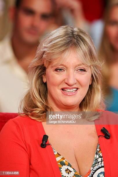Charlotte De Turckheim On Vivement Dimanche Tv Show On August 30Th 2006 In Paris France Here Charlotte De Turckheim