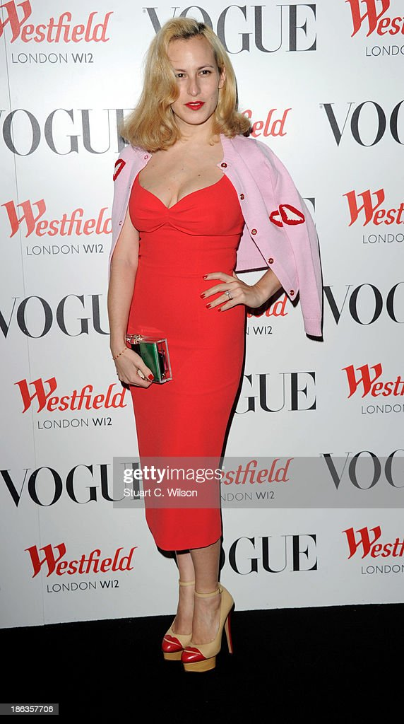 Charlotte Delall attends the launch of the Vogue Pop Up Club as part of Westfield London's 5th birthday celebrations at Westfield on October 30, 2013 in London, England.