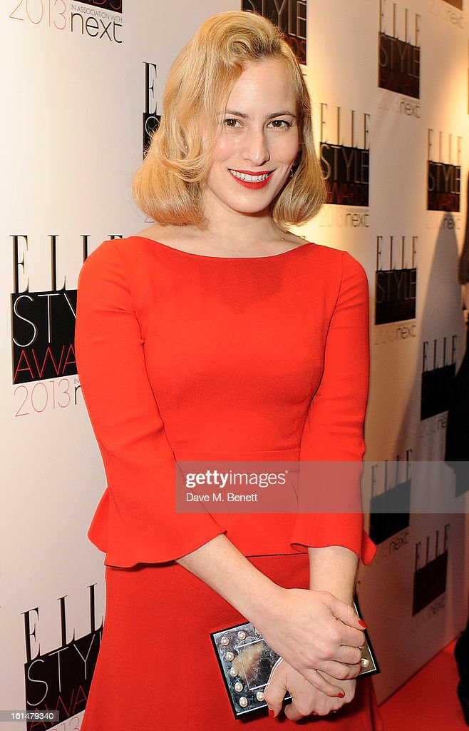 Charlotte Dellal arrives at the Elle Style Awards at The Savoy Hotel on February 11, 2013 in London, England.
