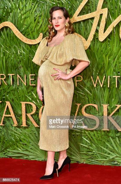 Charlotte Dellal attending the Fashion Awards 2017 in partnership with Swarovski held at the Royal Albert Hall London Picture Date Monday 4th...