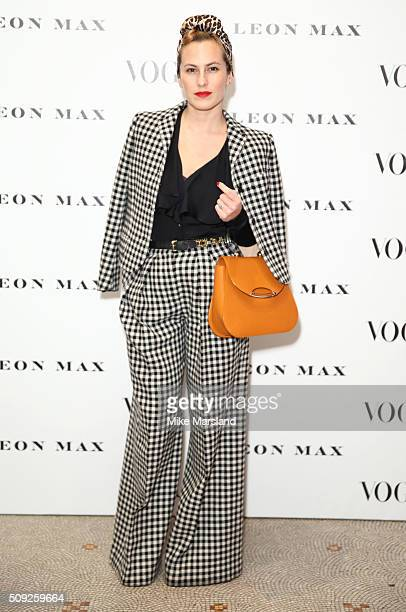 Charlotte Dellal attends at Vogue 100 A Century Of Style atNational Portrait Gallery on February 9 2016 in London England