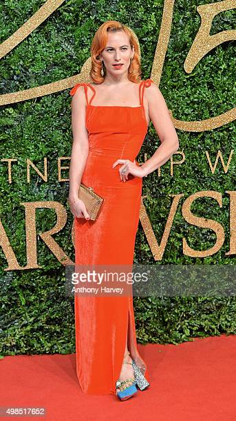 Charlotte Dellal attends the British Fashion Awards 2015 at London Coliseum on November 23 2015 in London England