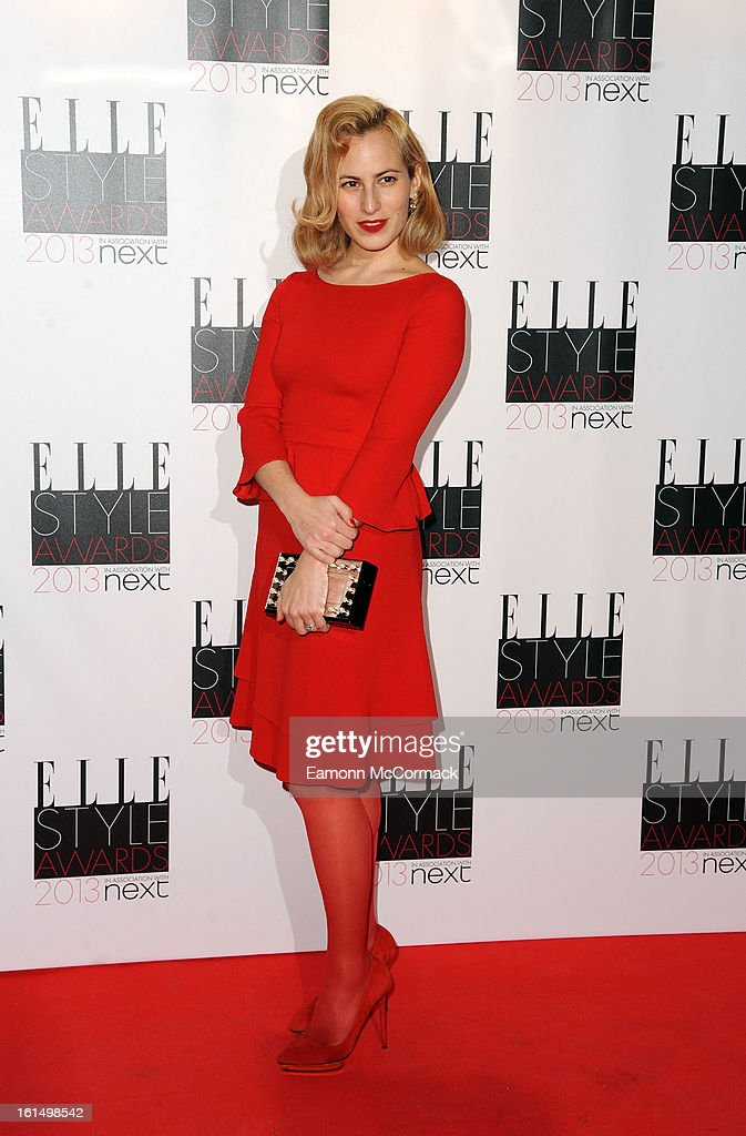 Charlotte Dellal attends the Elle Style Awards 2013 on February 11, 2013 in London, England.