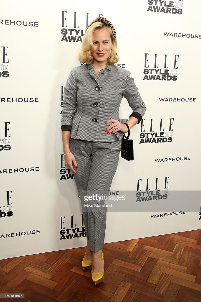 Charlotte Dellal attends the Elle Style Awards 2014 at one Embankment on February 18, 2014 in London, England.