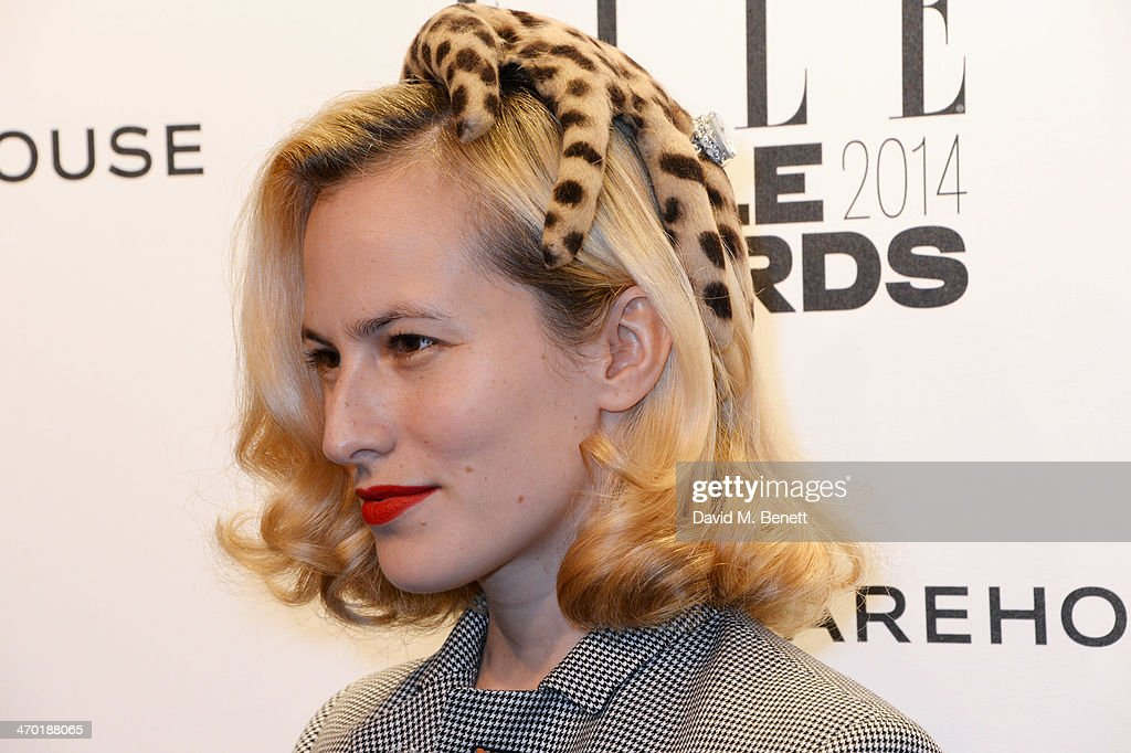<a gi-track='captionPersonalityLinkClicked' href=/galleries/search?phrase=Charlotte+Dellal&family=editorial&specificpeople=2242560 ng-click='$event.stopPropagation()'>Charlotte Dellal</a> attends the Elle Style Awards 2014 at One Embankment on February 18, 2014 in London, England.