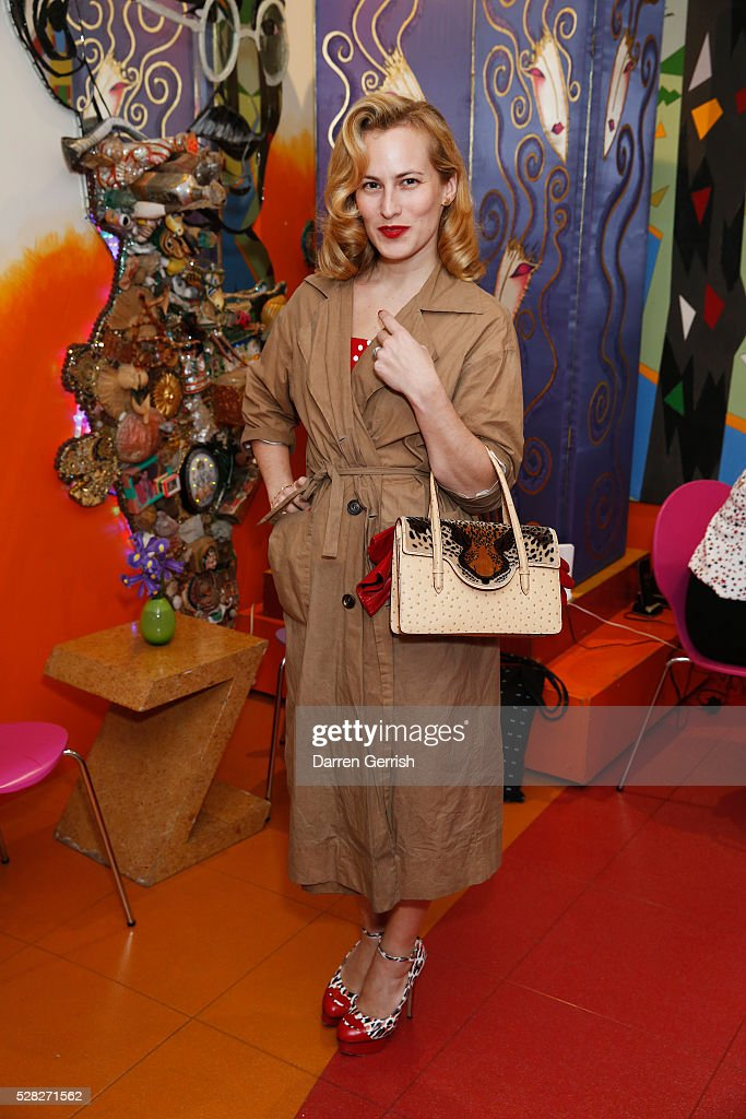 <a gi-track='captionPersonalityLinkClicked' href=/galleries/search?phrase=Charlotte+Dellal&family=editorial&specificpeople=2242560 ng-click='$event.stopPropagation()'>Charlotte Dellal</a> attends the Missoni Art Colour preview in partnership with The Woolmark Company at The Fashion and Textile Museum on May 4, 2016 in London, England.