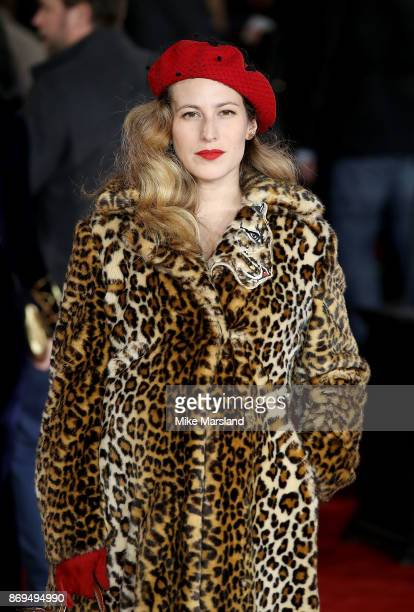 Charlotte Dellal attends the 'Murder On The Orient Express' World Premiere at Royal Albert Hall on November 2 2017 in London England