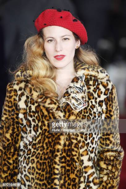 Charlotte Dellal attends the 'Murder On The Orient Express' World Premiere at Royal Albert Hall on November 02 2017 in London England