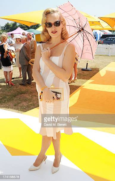 Charlotte Dellal attends the Veuve Clicquot Gold Cup Final at Cowdray Park Polo Club on July 21 2013 in Midhurst England