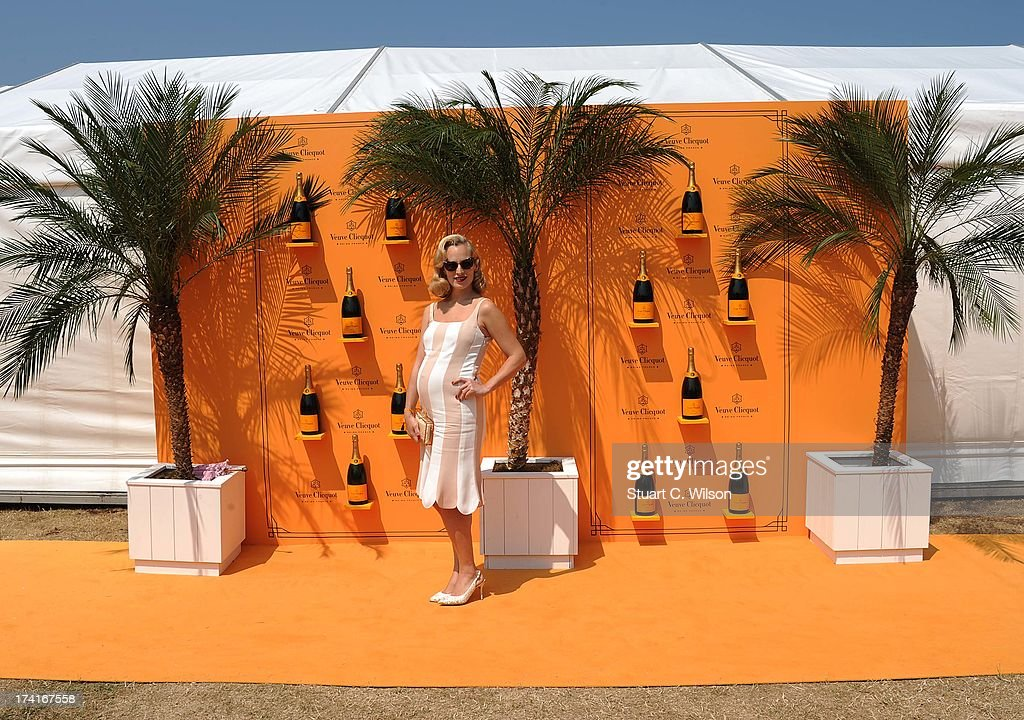 <a gi-track='captionPersonalityLinkClicked' href=/galleries/search?phrase=Charlotte+Dellal&family=editorial&specificpeople=2242560 ng-click='$event.stopPropagation()'>Charlotte Dellal</a> attends the Veuve Clicquot Gold Cup final at Cowdray Park Polo Club on July 21, 2013 in Midhurst, England.