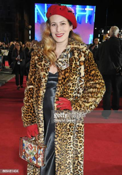 Charlotte Dellal attends the World Premiere of 'Murder On The Orient Express' at The Royal Albert Hall on November 2 2017 in London England