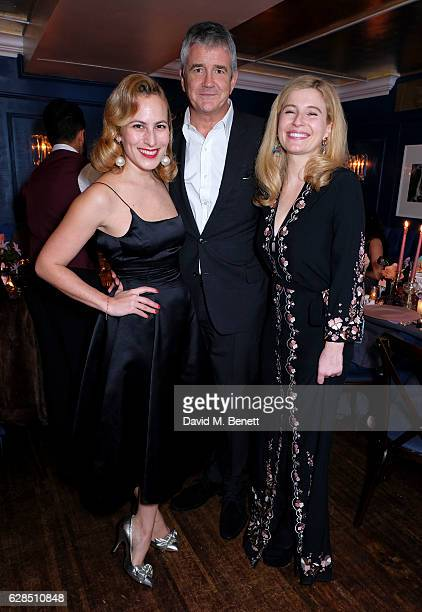 Charlotte Dellal Jay Jopling and Alexa Hirschfeld attend an intimate dinner to celebrate the launch of the Charlotte Olympia for Paperless Post...