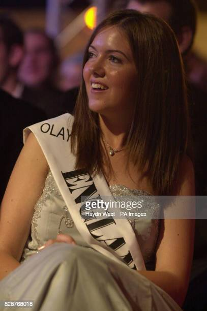 Charlotte Doherty from Leicester represents England in the final of the 2003 Rose of Tralee International Festival a personality contest for young...