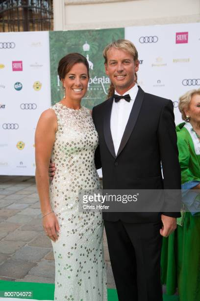 Charlotte Dujardin and Carl Hester during the Fete Imperiale 2017 on June 23 2017 in Vienna Austria