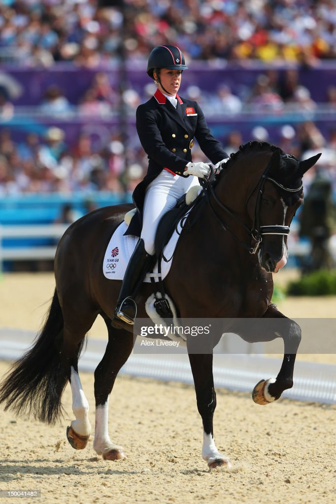 Olympics day 13 equestrian getty images for Charlotte dujardin