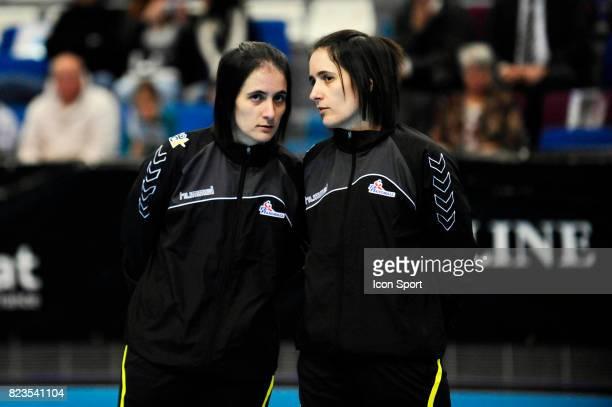 Charlotte et Julie BONAVENTURA Croatie / Roumanie Tournoi ParisIledeFrance