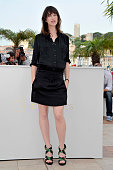 Charlotte Gainsbourg at the photo call for 'Melancholia' during the 64th Cannes International Film Festival