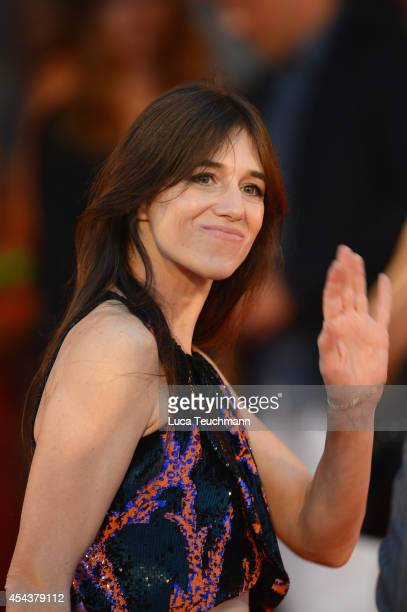 Charlotte Gainsbourg attends the '3 Coeurs' premiere during the 71st Venice Film Festival on August 30 2014 in Venice Italy