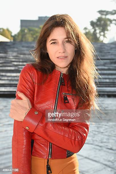 Charlotte Gainsbourg attends the Louis Vuitton show as part of the Paris Fashion Week Womenswear Spring/Summer 2015 on October 1 2014 in Paris France