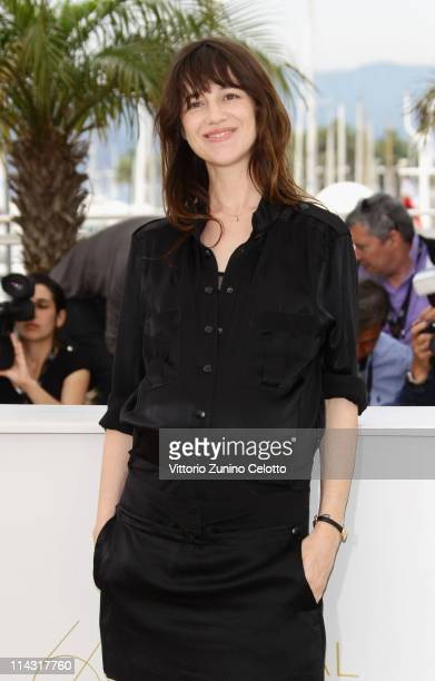 Charlotte Gainsbourg attends the 'Melancholia' photocall at the Palais des Festivals during the 64th Cannes Film Festival on May 18 2011 in Cannes...