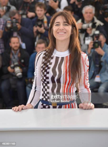 Charlotte Gainsbourg attends the 'Misunderstood' photocall at the 67th Annual Cannes Film Festival on May 22 2014 in Cannes France