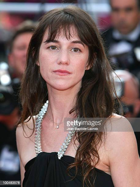 Charlotte Gainsbourg attends the Palme d'Or Closing Ceremony held at the Palais des Festivals during the 63rd Annual International Cannes Film...