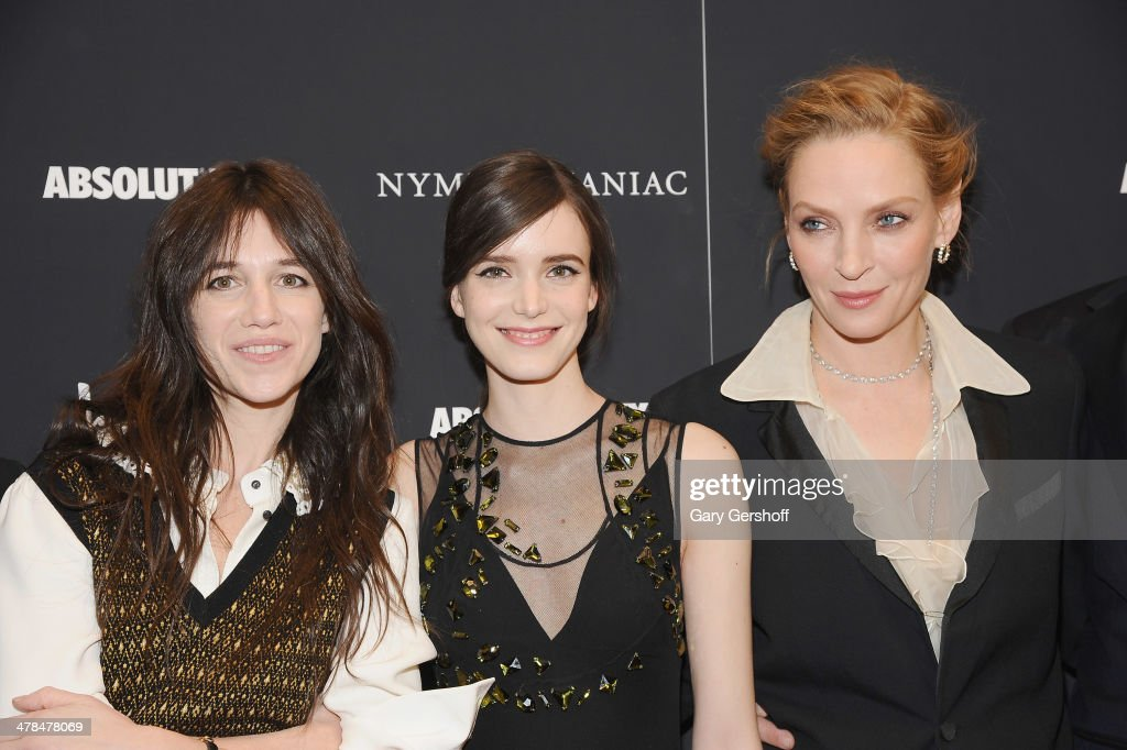 <a gi-track='captionPersonalityLinkClicked' href=/galleries/search?phrase=Charlotte+Gainsbourg&family=editorial&specificpeople=243034 ng-click='$event.stopPropagation()'>Charlotte Gainsbourg</a>, <a gi-track='captionPersonalityLinkClicked' href=/galleries/search?phrase=Stacy+Martin&family=editorial&specificpeople=5545651 ng-click='$event.stopPropagation()'>Stacy Martin</a> and <a gi-track='captionPersonalityLinkClicked' href=/galleries/search?phrase=Uma+Thurman&family=editorial&specificpeople=171973 ng-click='$event.stopPropagation()'>Uma Thurman</a> attend the 'Nymphomaniac: Volume I' screening at The Museum of Modern Art on March 13, 2014 in New York City.