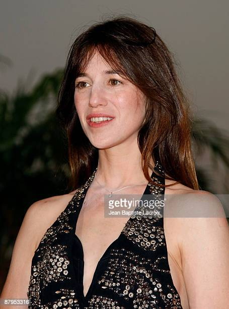 Charlotte Gainsbourg wins best actress award for Lars von Trier's 'Antichrist' at the Palme d'Or Award Ceremony Photocall at the Palais des Festivals...