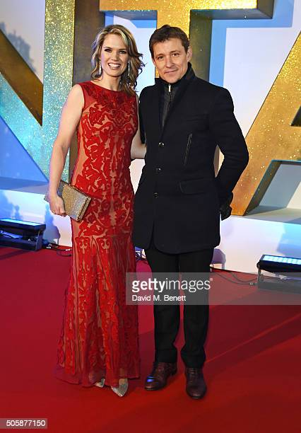 Charlotte Hawkins and Ben Shephard attend the 21st National Television Awards at The O2 Arena on January 20 2016 in London England