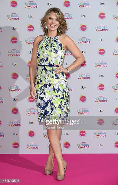 Charlotte Hawkins attends Lorraine's High Street Fashion Awards at Grand Connaught Rooms on May 19 2015 in London England
