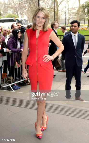 Charlotte Hawkins attends the 2014 TRIC Awards at The Grosvenor House Hotel on March 11 2014 in London England