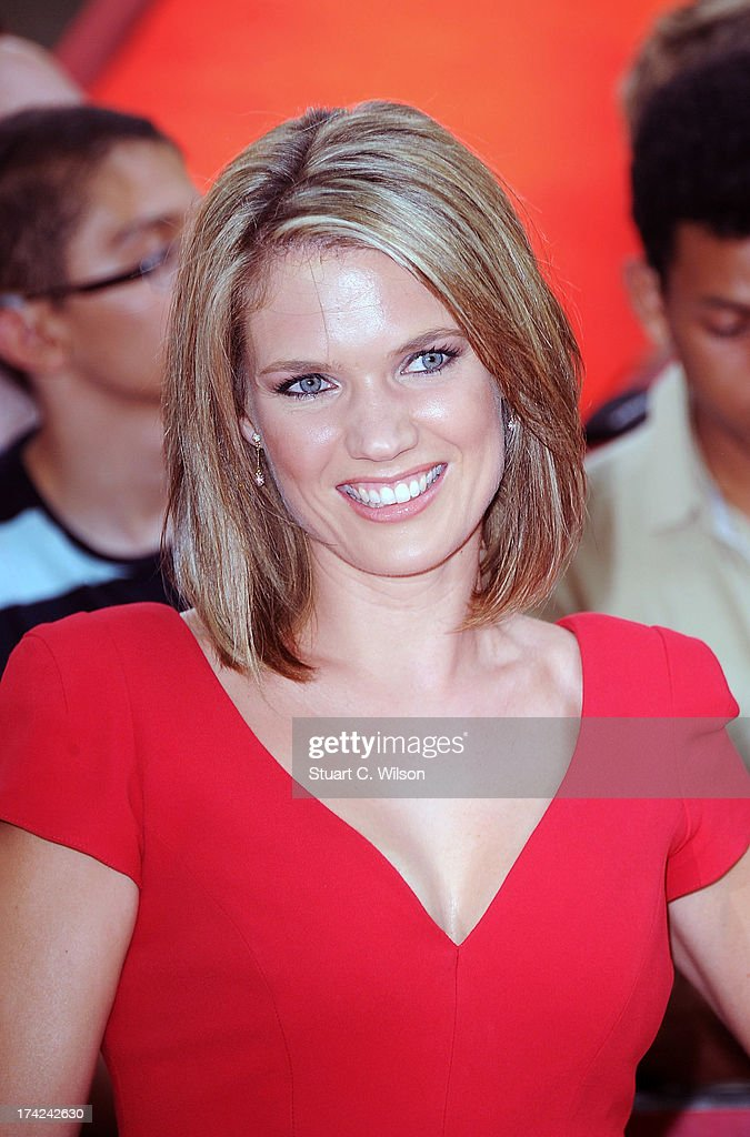 Charlotte Hawkins attends the European Premiere of 'Red 2' at Empire Leicester Square on July 22, 2013 in London, England.