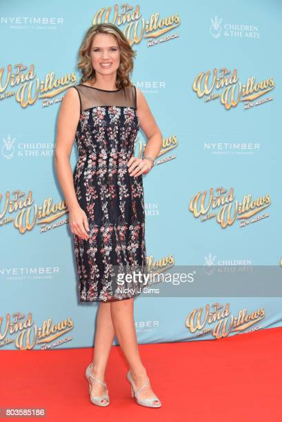 Charlotte Hawkins attends the Gala performance of Wind In The Willows at London Palladium on June 29 2017 in London England