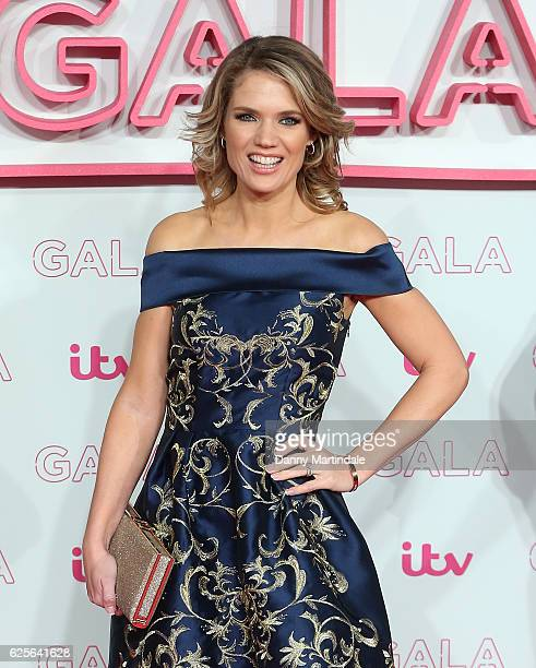 Charlotte Hawkins attends the ITV Gala at London Palladium on November 24 2016 in London England