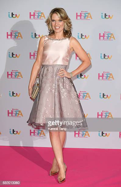 Charlotte Hawkins attends the Lorraine's High Street Fashion Awards at Grand Connaught Rooms on May 17 2016 in London England