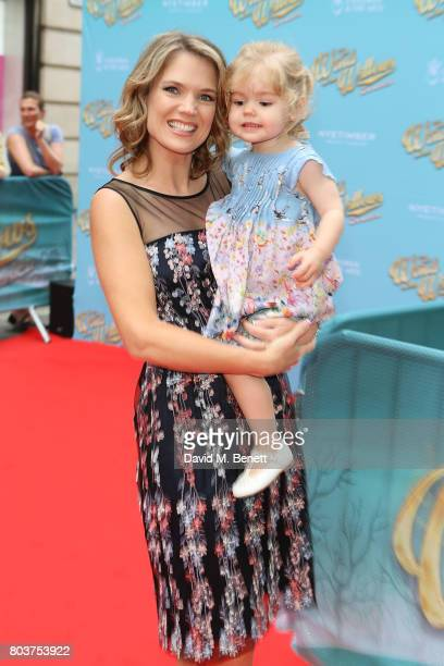 Charlotte Hawkins attends the press night performance of 'The Wind In The Willows' at the London Palladium on June 29 2017 in London England