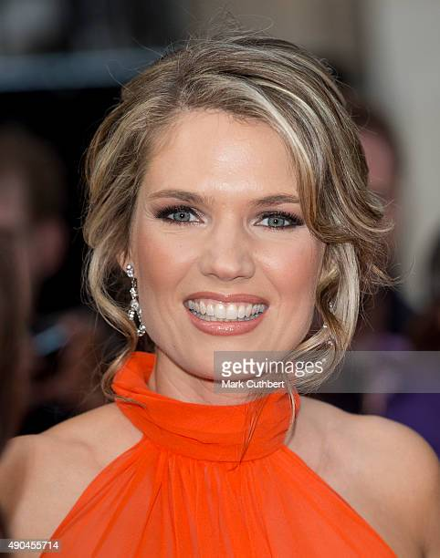 Charlotte Hawkins attends the Pride of Britain awards at The Grosvenor House Hotel on September 28 2015 in London England