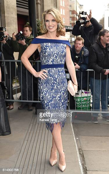 Charlotte Hawkins attends the TRIC Awards 2016 at Grosvenor House Hotel at The Grosvenor House Hotel on March 8 2016 in London England