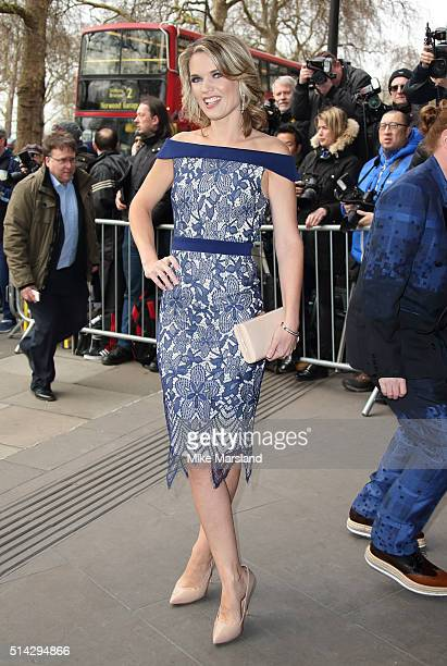 Charlotte Hawkins attends the TRIC Awards at Grosvenor House Hotel at The Grosvenor House Hotel on March 8 2016 in London England
