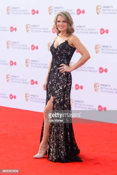 Charlotte Hawkins attends the Virgin TV BAFTA Television Awards at The Royal Festival Hall on May 14 2017 in London England