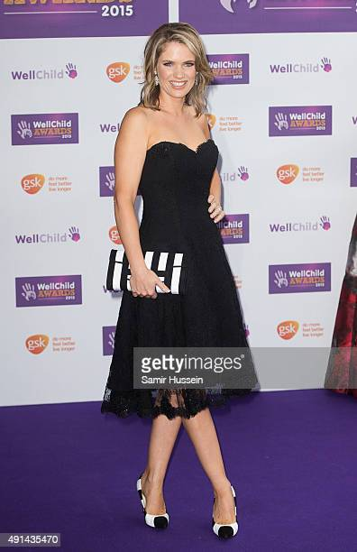 Charlotte Hawkins attends the WellChild Awards at London Hilton on October 5 2015 in London England