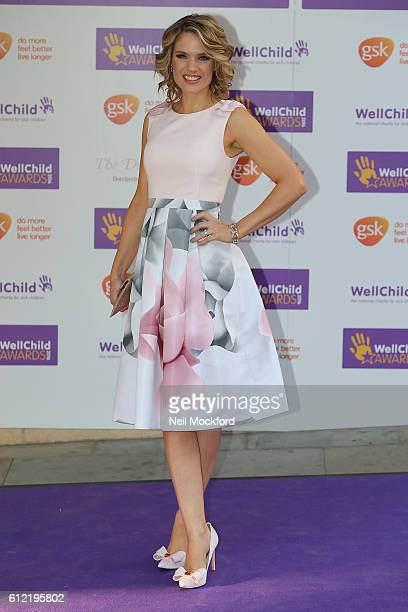 Charlotte Hawkins attends the WellChild Awards at The Dorchester on October 3 2016 in London England