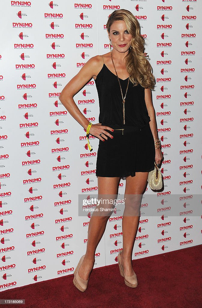 Charlotte Jackson attends as Dynamo performs a secret gig on July 9, 2013 in London, England.