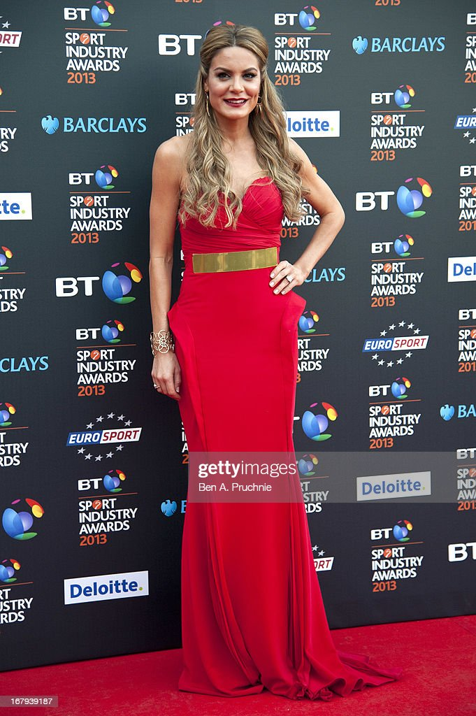 Charlotte Jackson attends the BT Sports Industry awards at Battersea Evolution on May 2, 2013 in London, England.