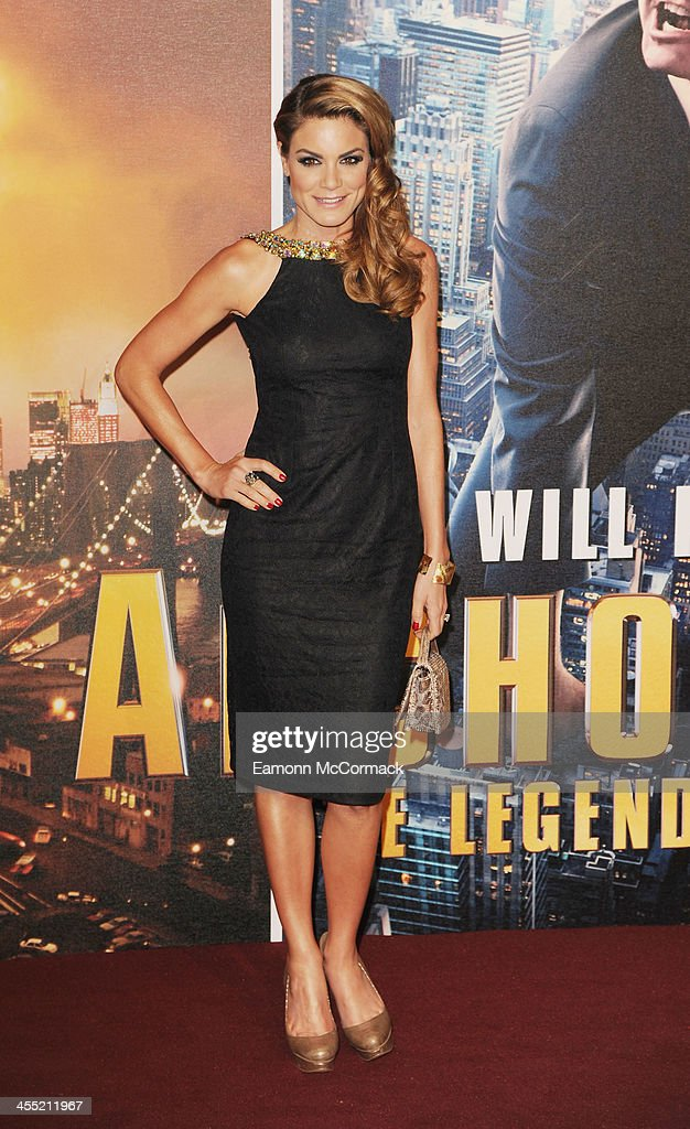 Charlotte Jackson attends the UK premiere of 'Anchorman 2: The Legend Continues' at Vue West End on December 11, 2013 in London, England.